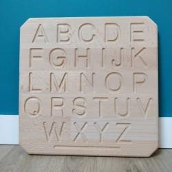 Tablette alphabet  script...